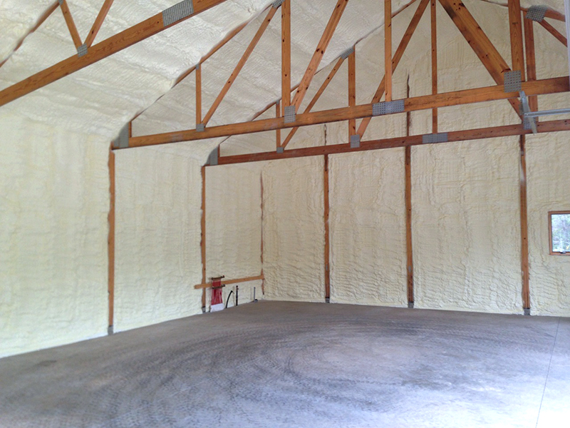 insulating pole barn