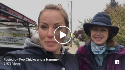 Two Chicks and hammer revitalize video
